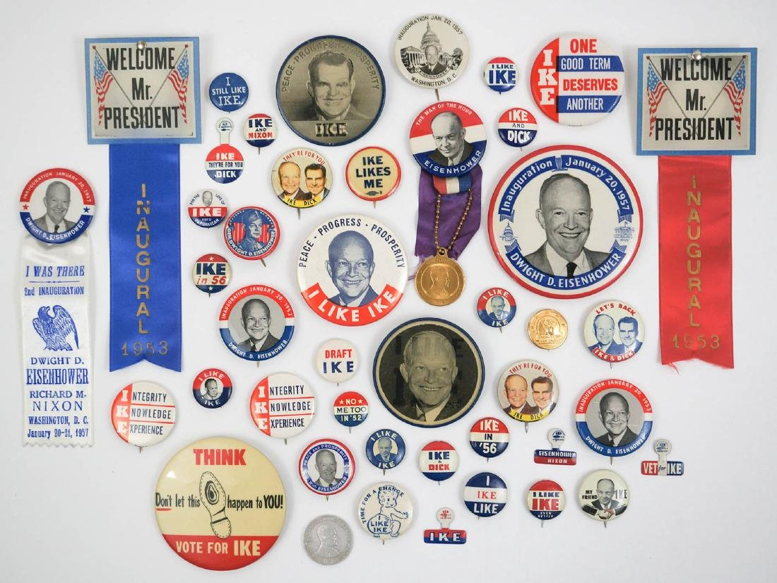 Dwight D. Eisenhower Campaign Items