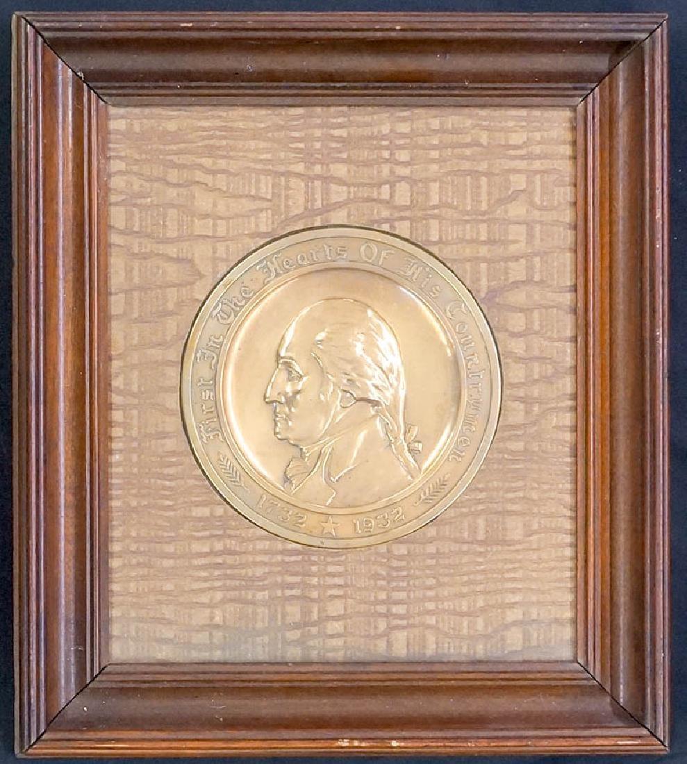 George Washington Commemorative Gorham Plaque
