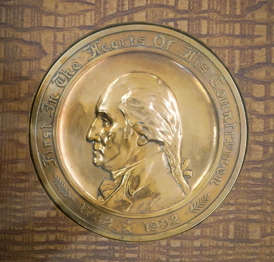 George Washington Commemorative Gorham Plaque - 2