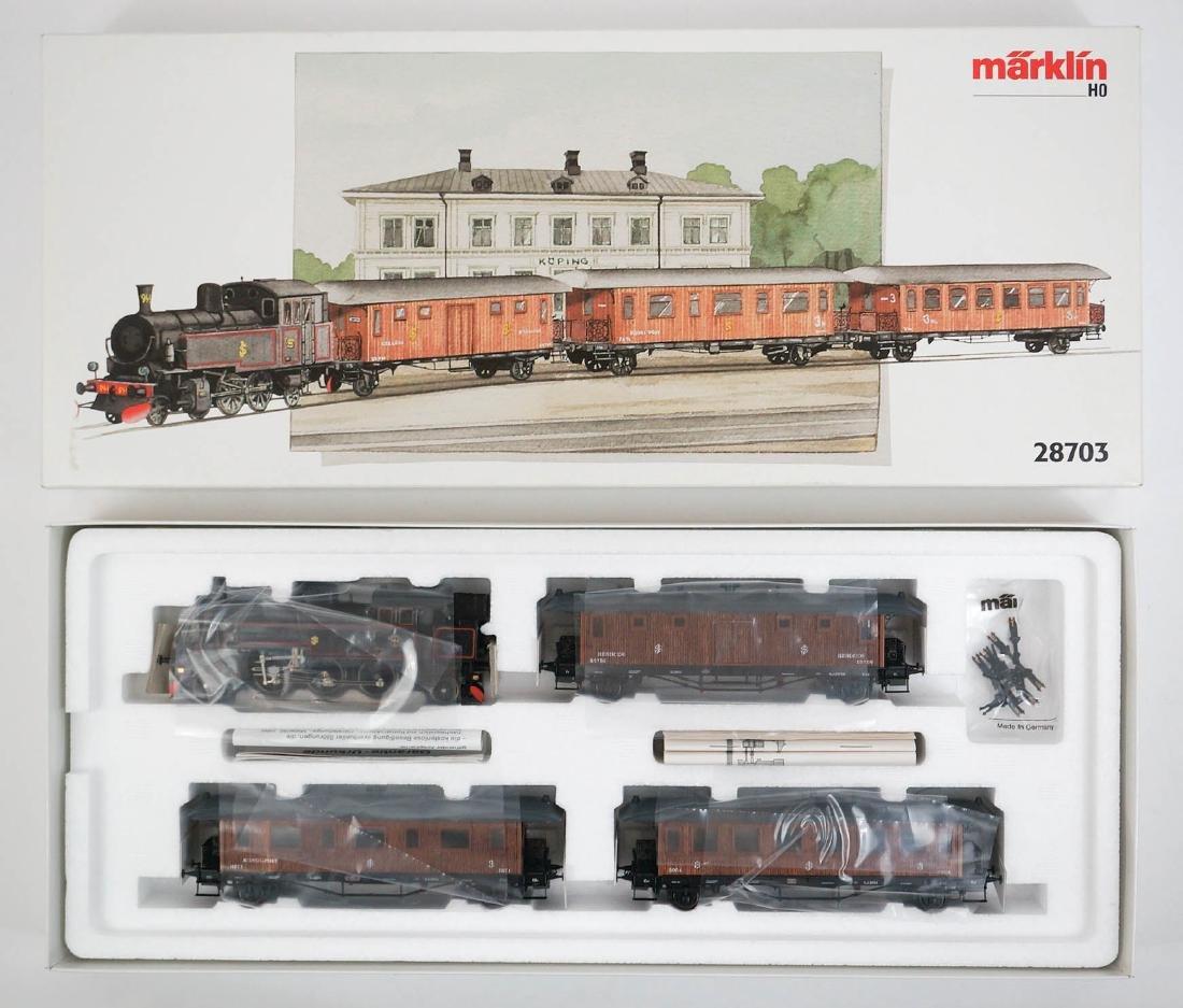 Marklin 28703 Historic SJ Passenger Train Set MIB