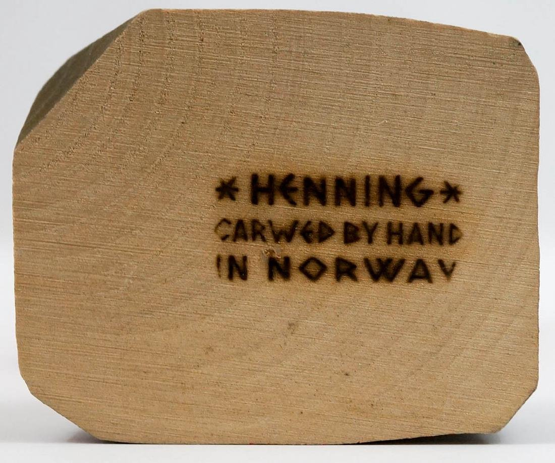 Henning Viking Carved by Hand in Norway - 5