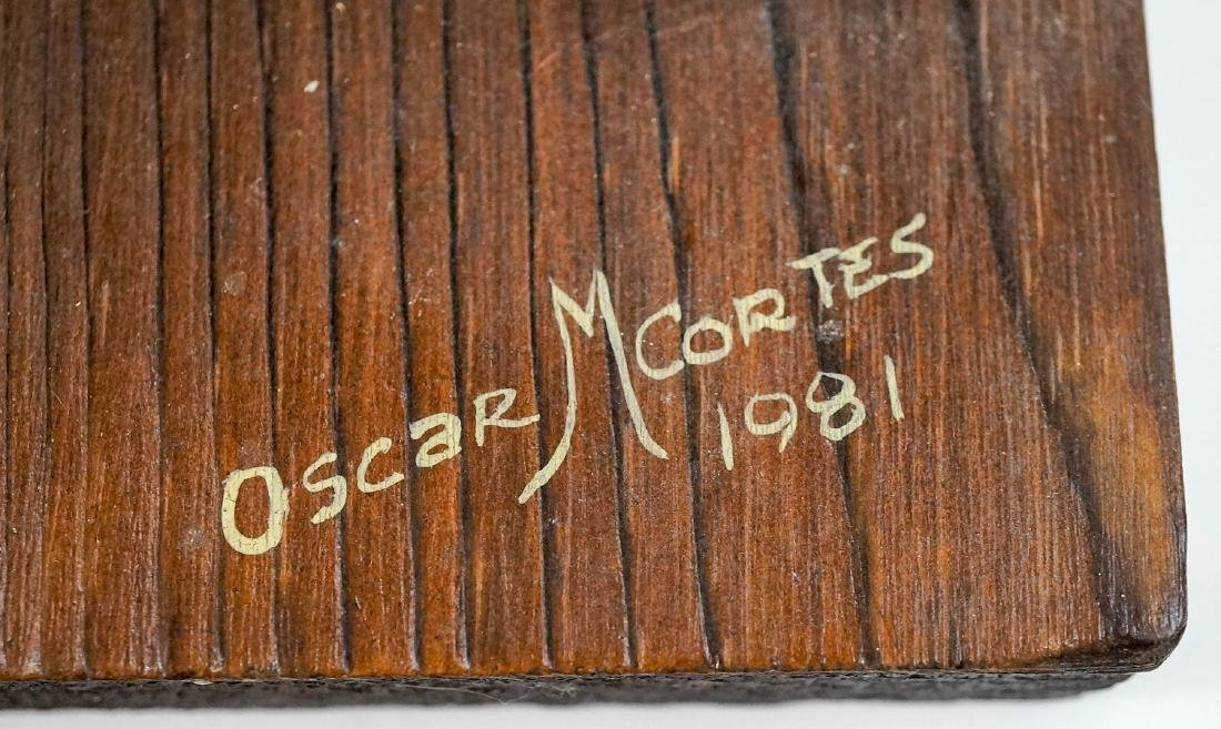 Oscar Cortes Signed Stagecoach Model - 3