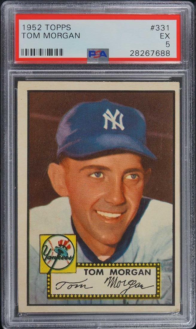 1952 Topps Tom Morgan #331 PSA 5 EX