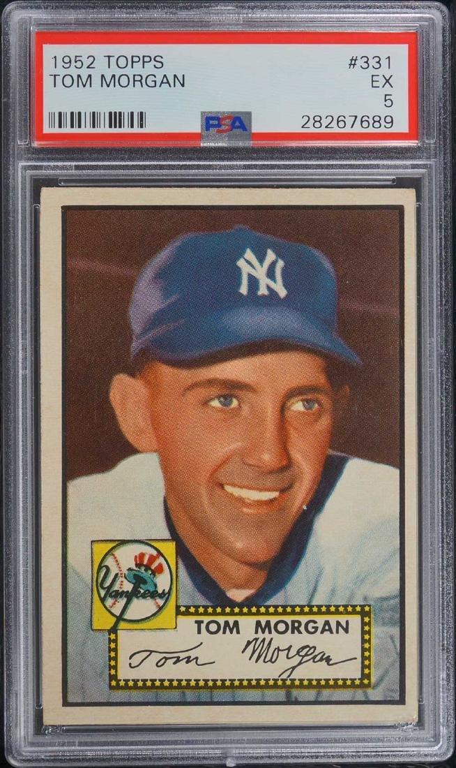 1952 Topps Tom Morgan #331 PSA 5