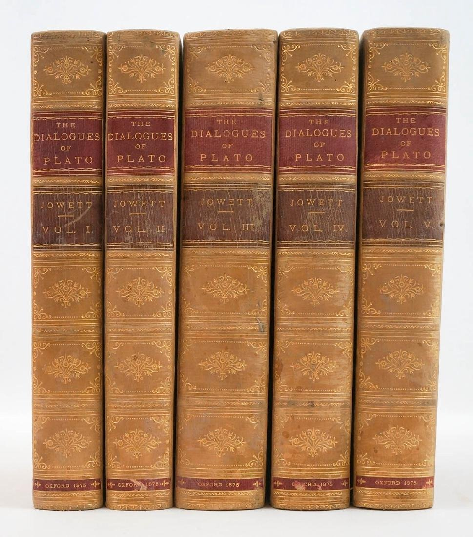 The Dialouges of Plato (5 Volumes) 1875