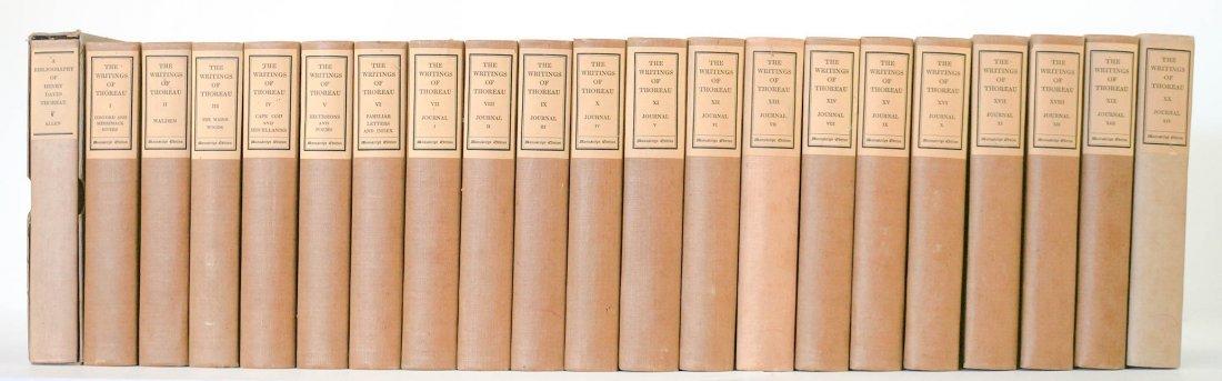 The Writings of Henry David Thoreau, Manuscript Ed