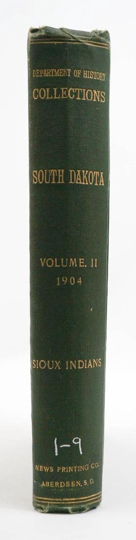 South Dakota Historical Collections Vol II 1904