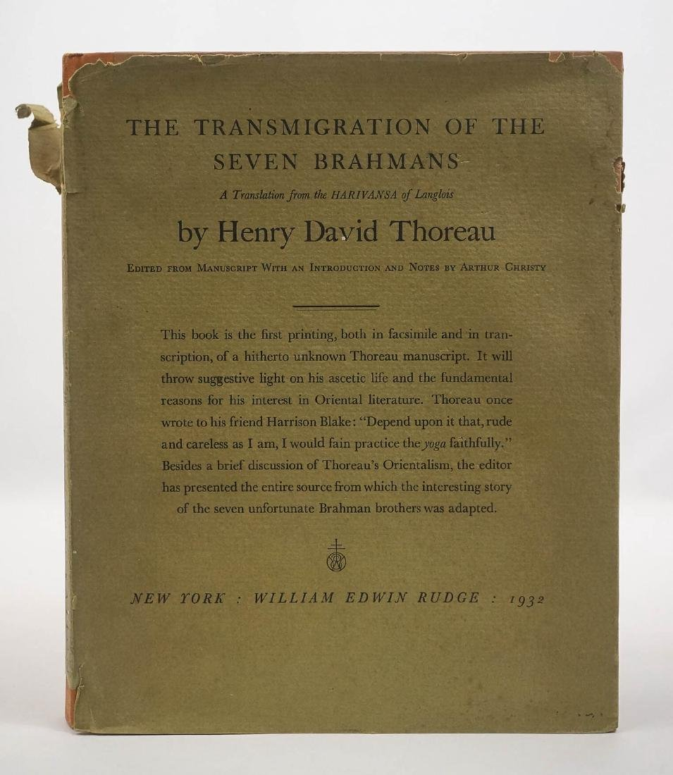 The Transmigration of the Seven Brahmans