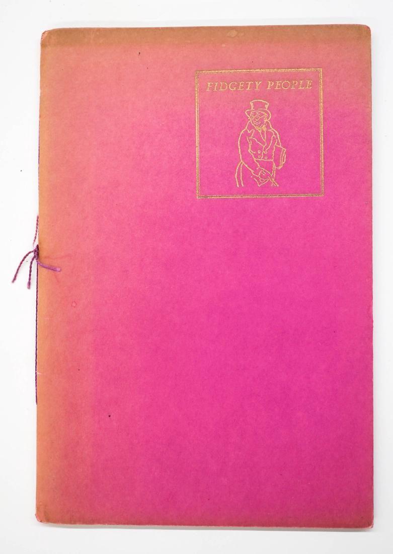 Fidgety People Reprint 1933