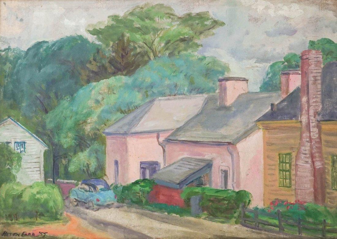 Helen Farr (American 1911-2005) Oil Painting