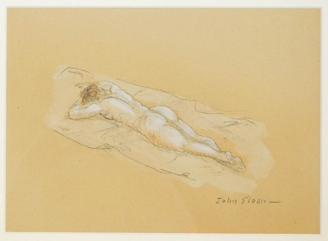 John French Sloan (1871-1951) Original Artwork