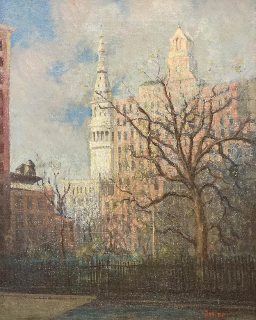 Leon Dolice (New York 1892-1960) Oil Painting