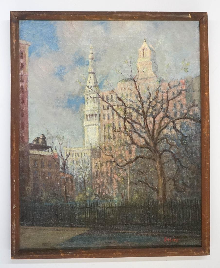 Leon Dolice (New York 1892-1960) Oil Painting - 2