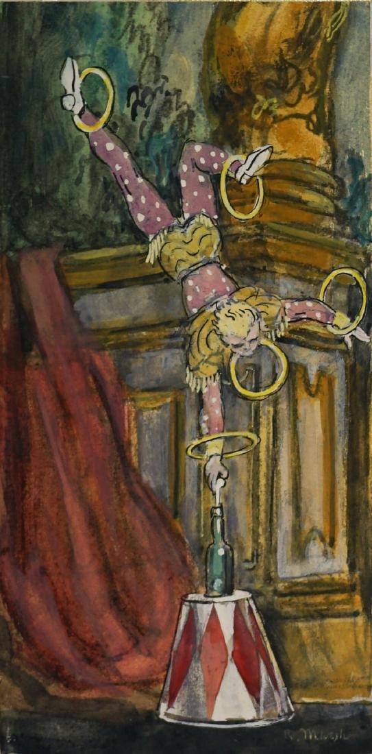Reginald Marsh (1898-1954) Original Art