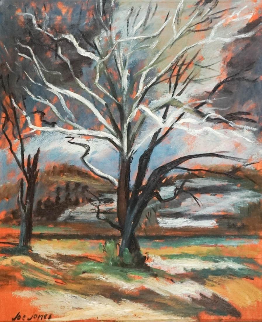 Joe Jones (American 1909-1963) Oil on Canvas