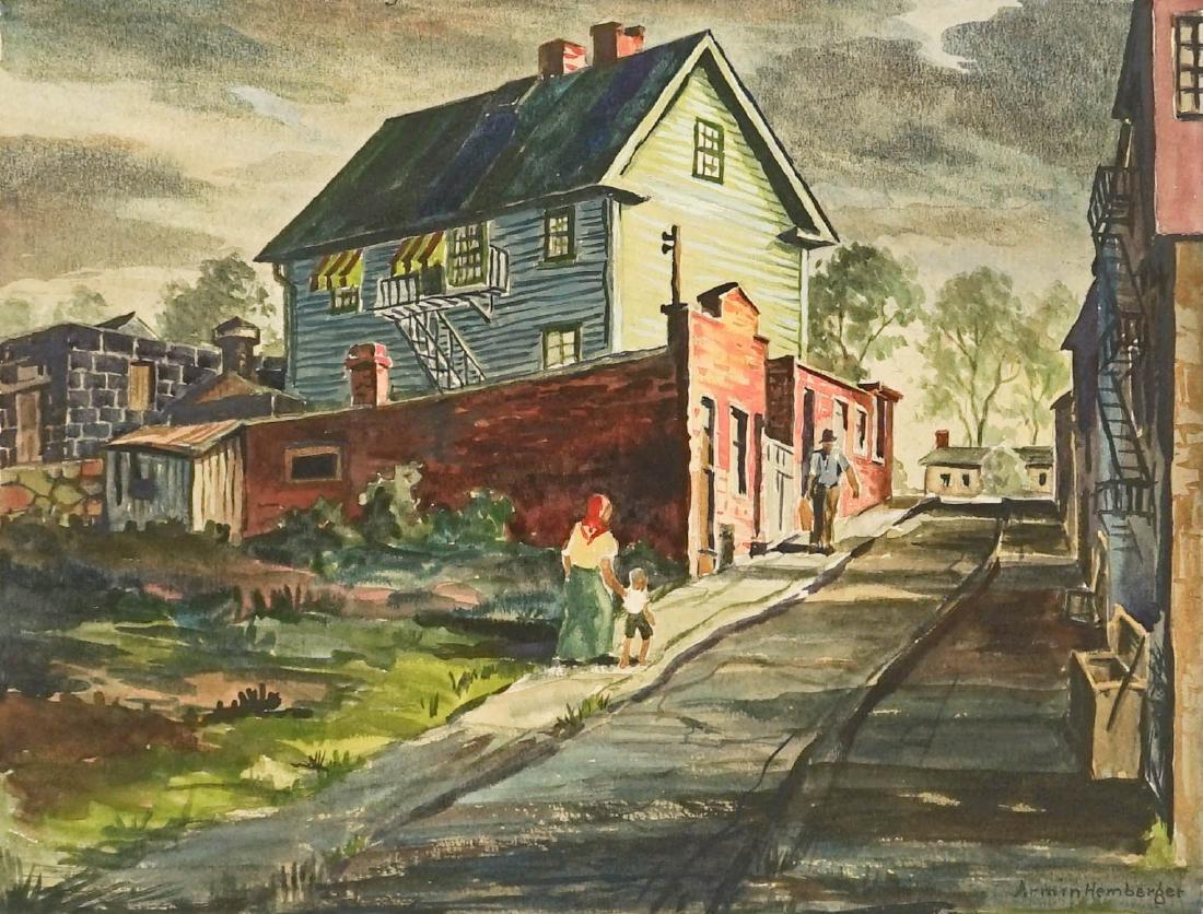 Armin Hemberger (Connecticut 1896-1974) Original