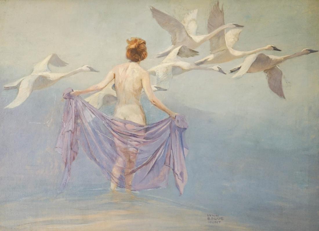 Lynn Bogue Hunt (New York 1878-1960) Oil