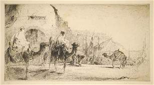 E.J. Detmold Pencil Signed Etching #37/75