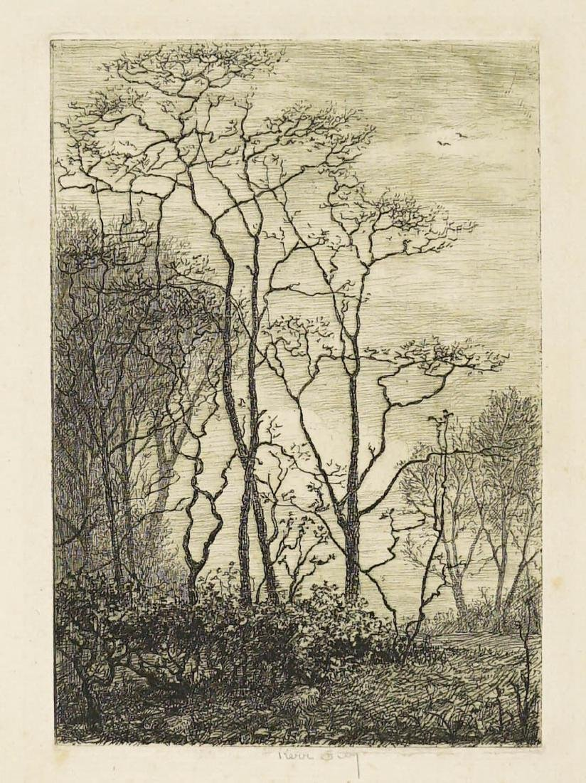 Kerr Eby (1889-1946) Signed Etching