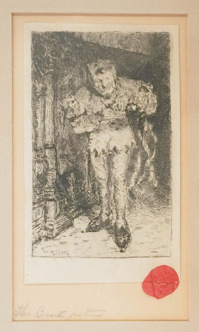William Merritt Chase (1849-1916) Etching