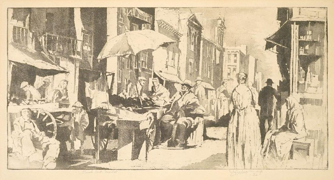 Earl Horter (American 1881-1940) Signed Etching