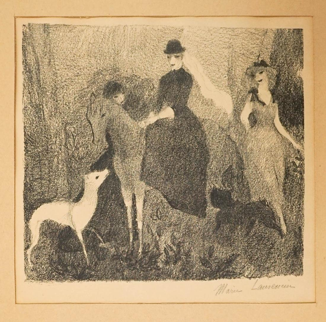 Marie Laurencin (1885-1956) Signed Lithograph