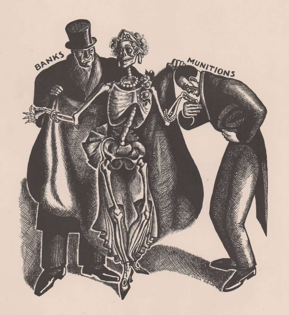 Lydia Gibson (American 1891-1964) Lithograph
