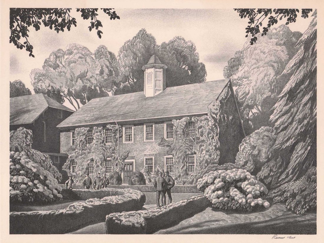 Rockwell Kent (1882-1971) Lithograph