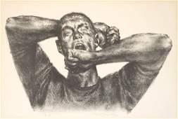 Joseph Hirsch (New York 1910-1981) Lithograph