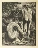Emil Ganso (1895-1941) Wooodcut