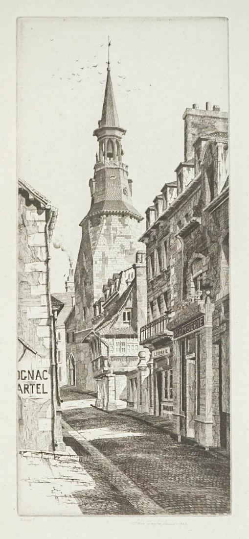 John Taylor Arms (1887-1953) Etching