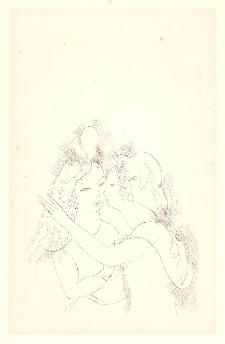 Marie Laurencin Etching