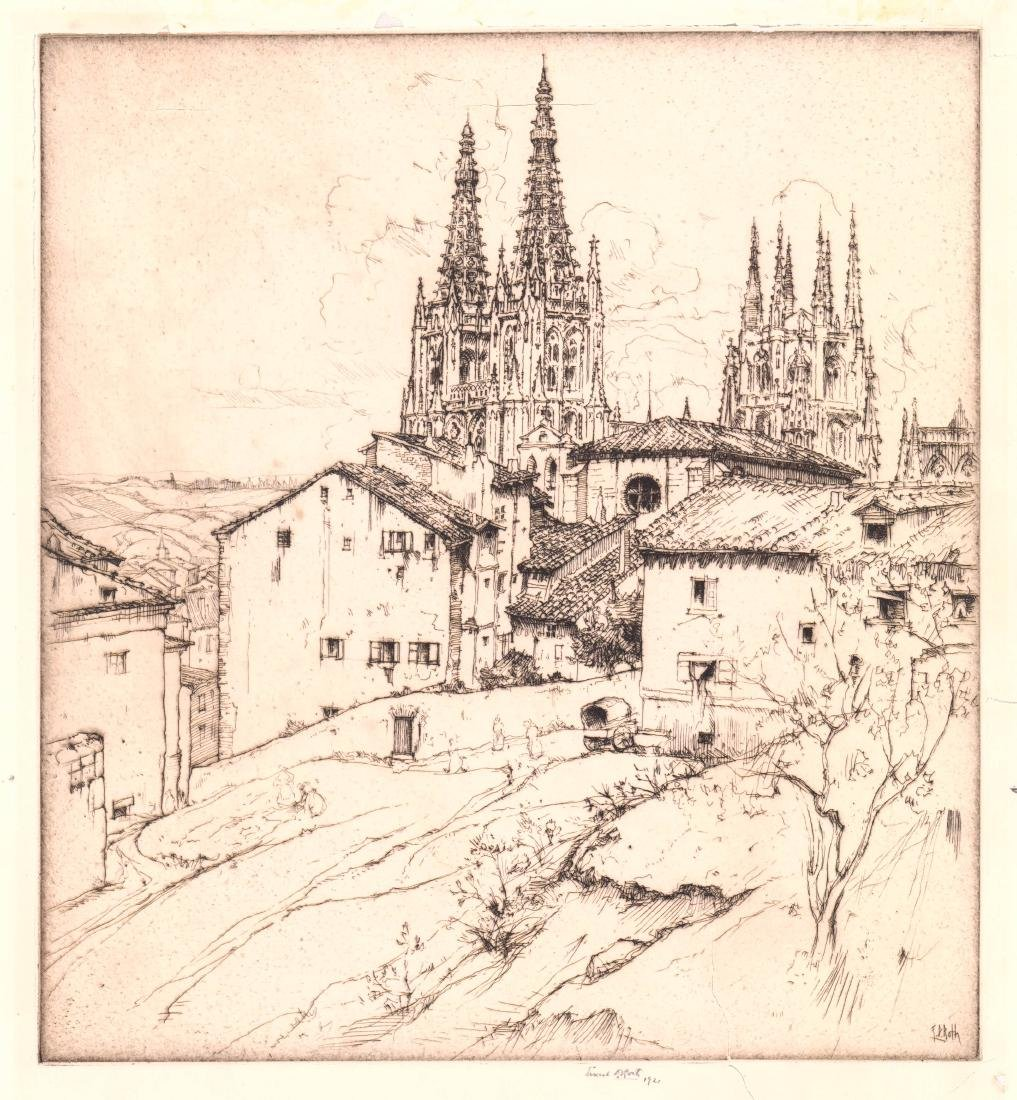 Ernest Roth Etching