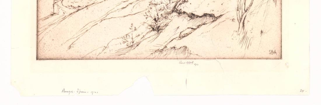 Ernest Roth Etching - 3