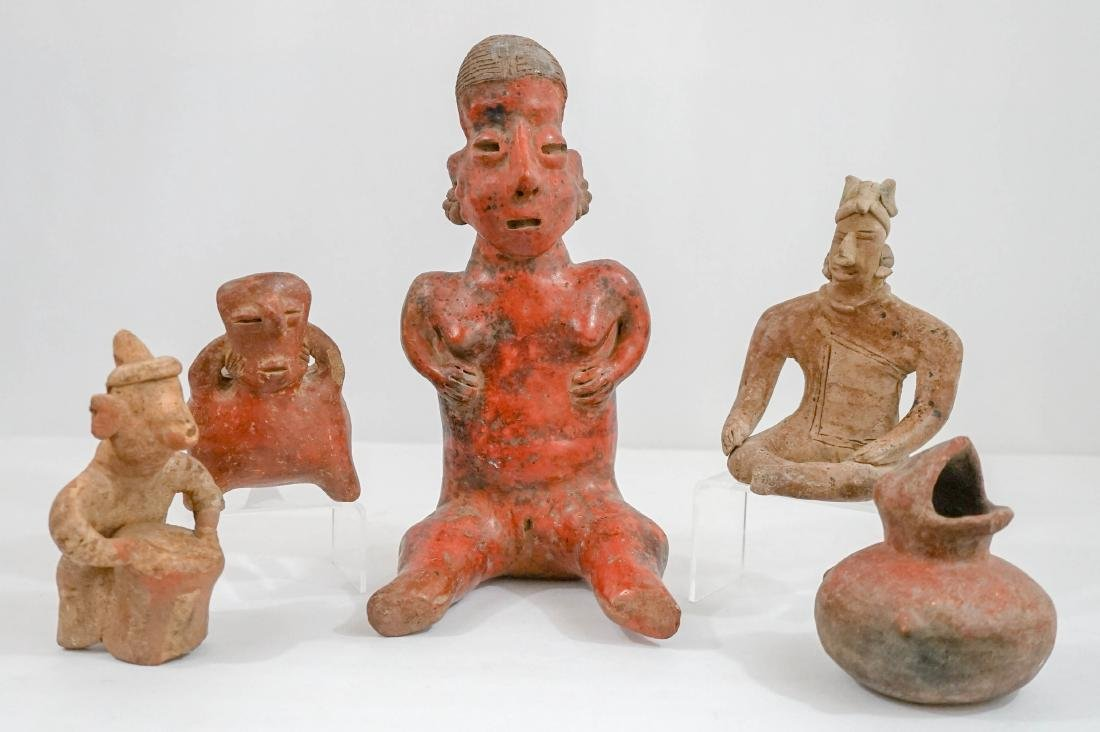 Mexican Pre-Columbian Figures