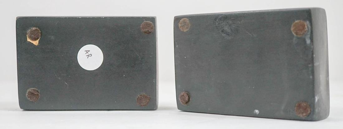Two Chinese Carved Ink Stones - 2