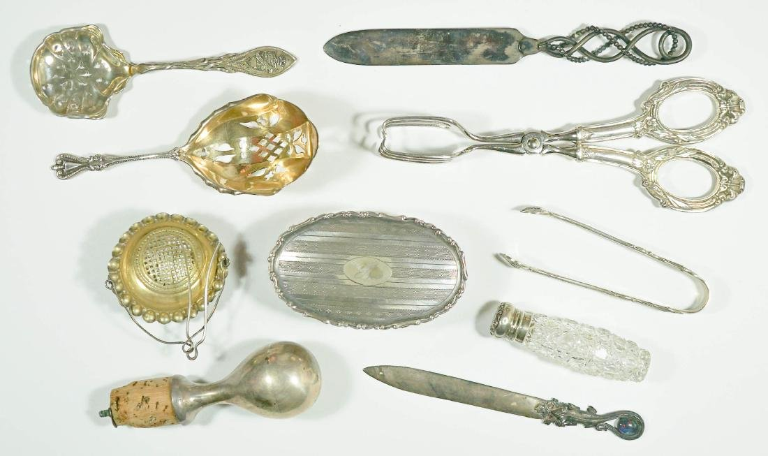 Group of Sterling Articles