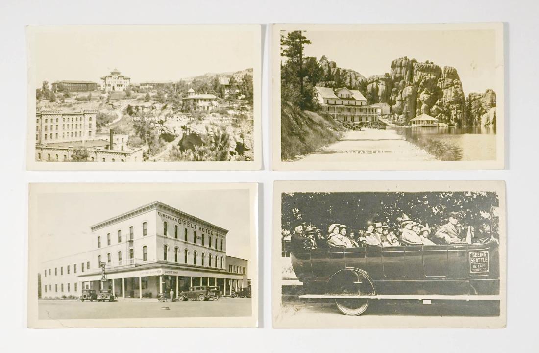 Four Real Photo Postcards Including South Dakota