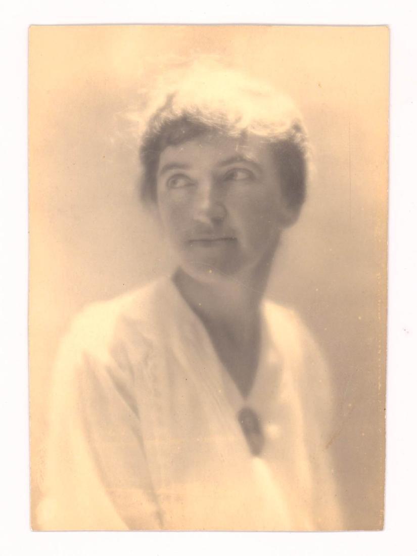 Dorothea Lange (1895-1965) Photo of E.J. Sturges
