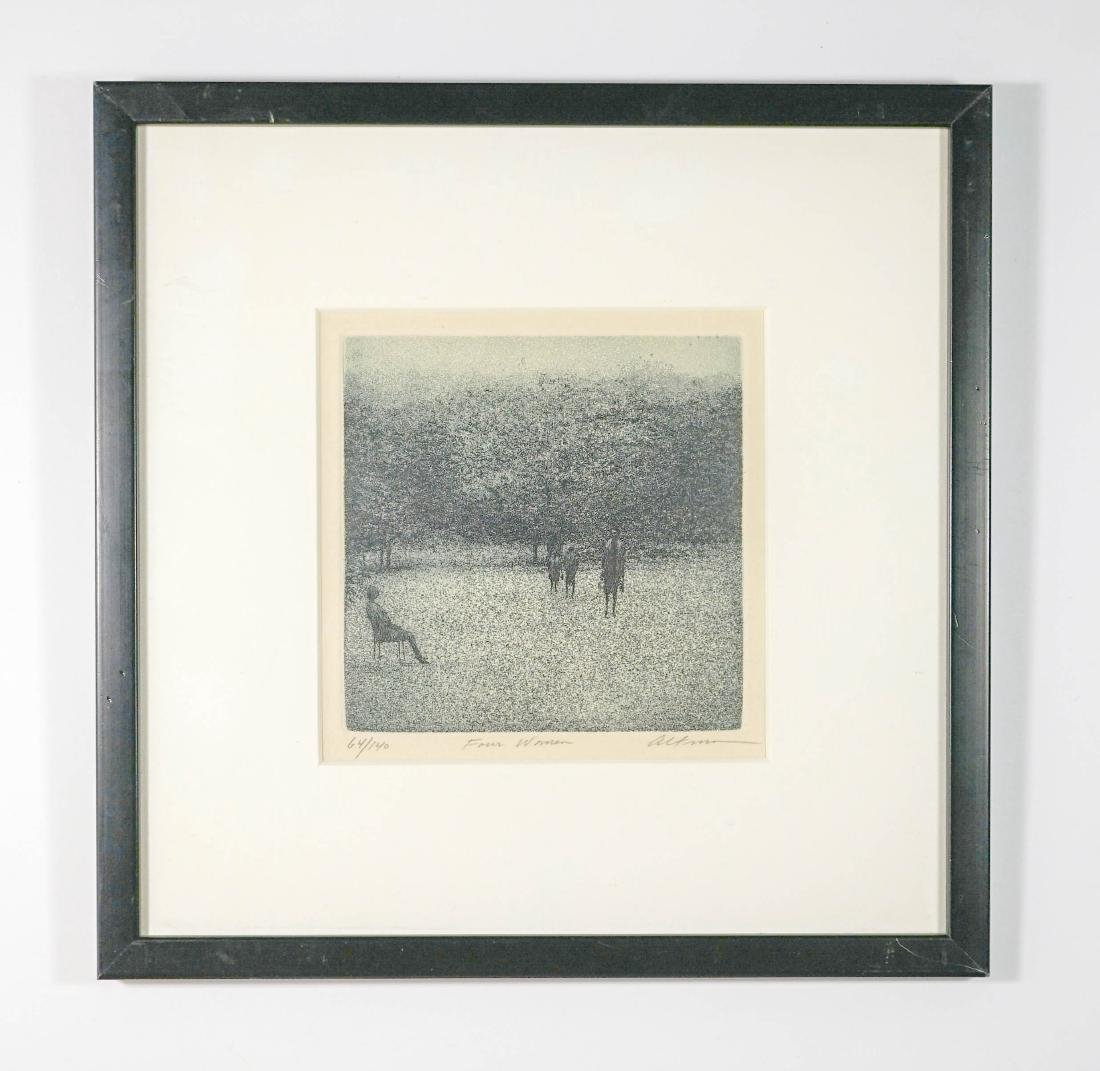 Harold Altman Etching