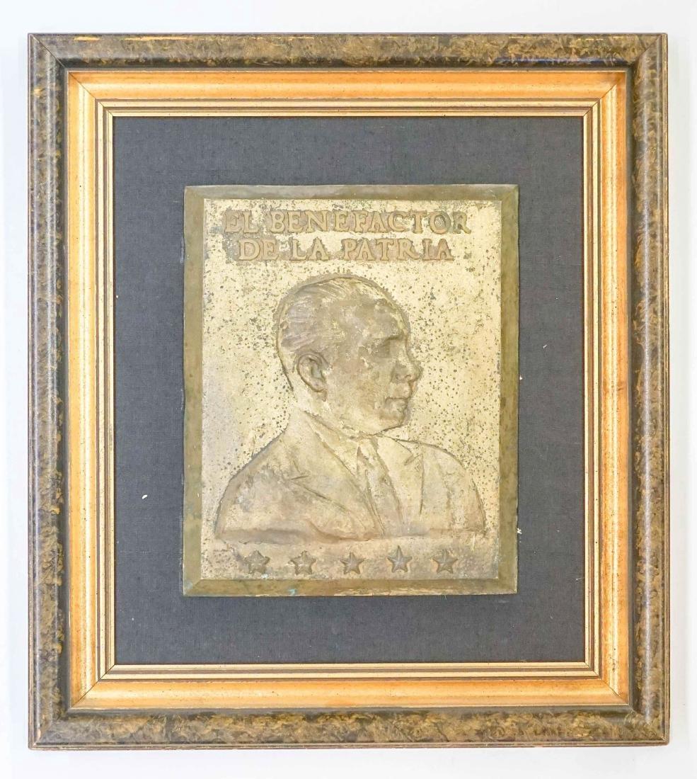 Rafael Trujillo Metal Plaque - 2
