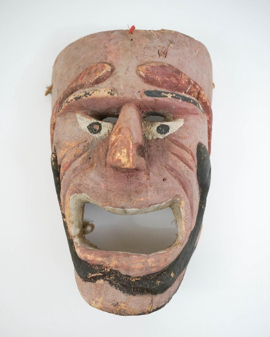 Carved Ethnic Mask