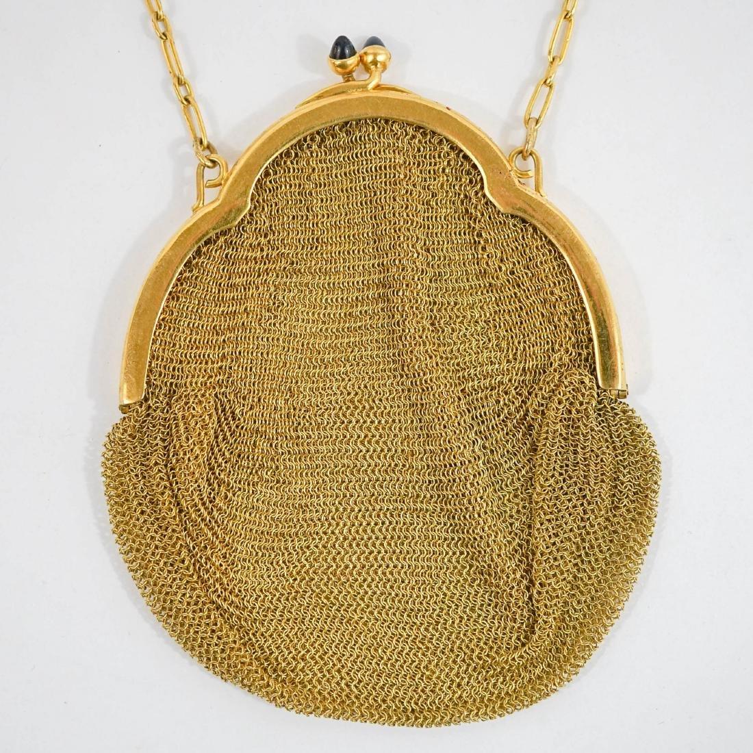 Gold Mesh Bag - 2