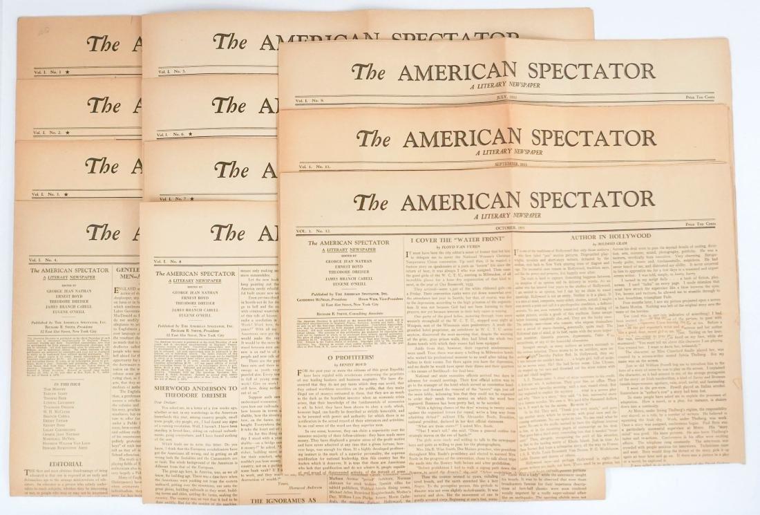 The American Spectator Vol. 1, No. 1-12