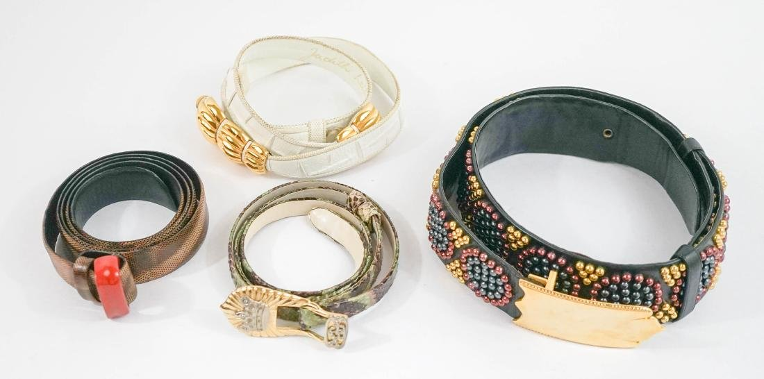Judith Leiber and Miss Ellen Ruth Levy NYC Belts