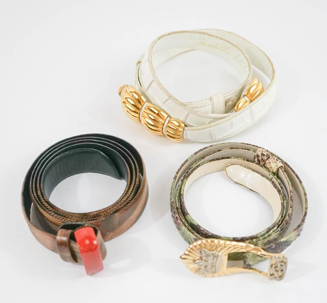 Judith Leiber and Miss Ellen Ruth Levy NYC Belts - 2