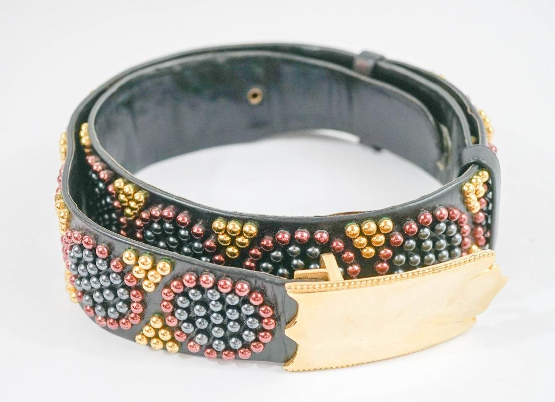 Judith Leiber and Miss Ellen Ruth Levy NYC Belts - 3
