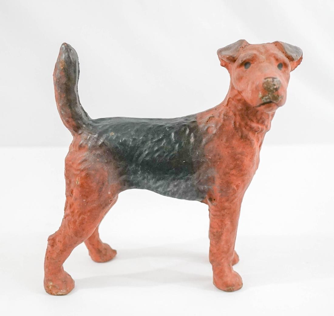 Figural Dog Doorstop