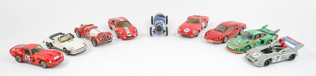 Group of Nine 1:43 Scale High-End Model Cars