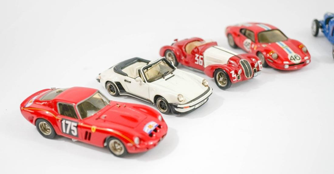 Group of Nine 1:43 Scale High-End Model Cars - 2